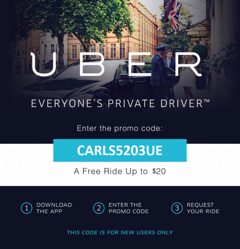 Uber free coupons for old users