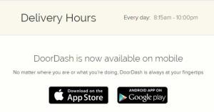 Doordash Delivery Hours