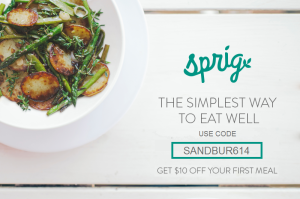 Sprig coupon code