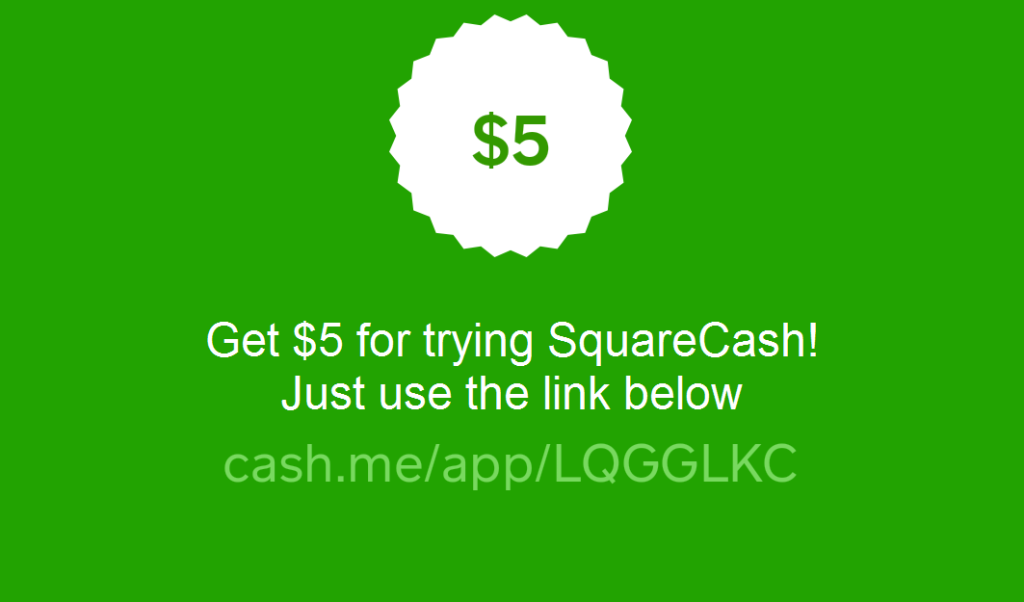 squarecash referral code