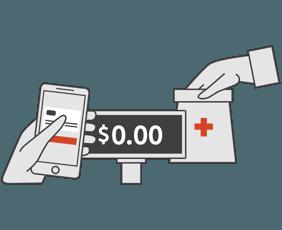 show blink health app to pharmacist