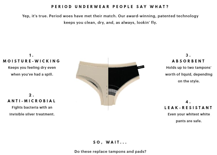 Thinx $10 referral code – Use EGWFU for $10 free! | Really Juiced